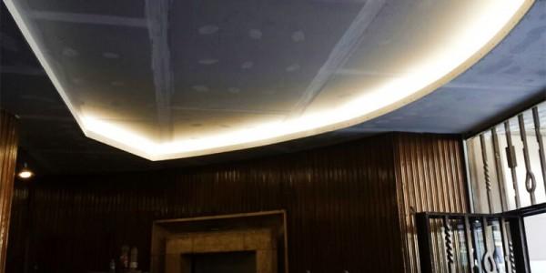 Arreglos techo entrada del portal