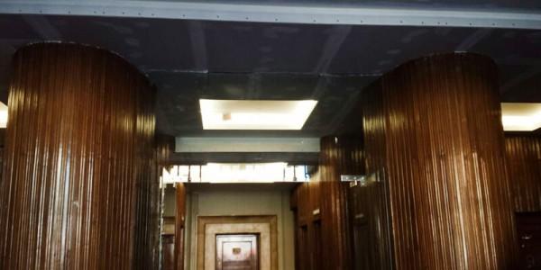 Arreglos techo del portal