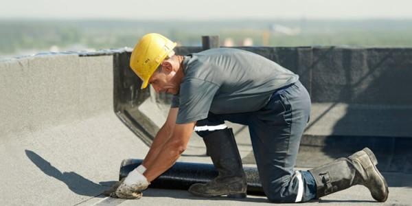 Impermeabilización de cubierta de edificio