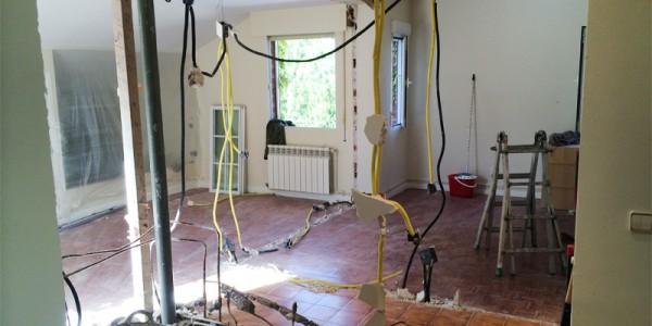 Quitar tabiques en vivienda particular