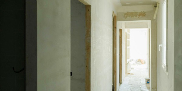 Reforma del pasillo de la casa