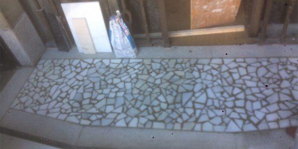 Terminación del mosaico del suelo